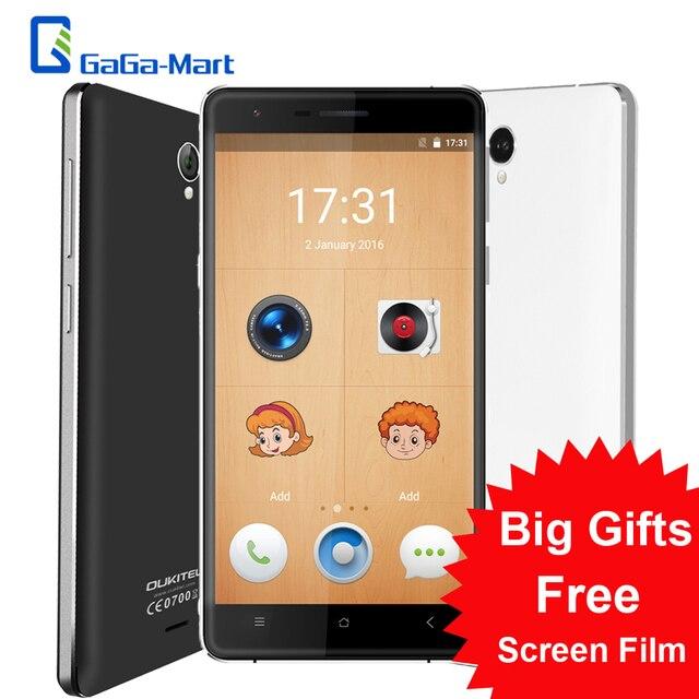 OUKITEL K4000 Lite 4G FDD Smartphone Android 5.1 MTK6735P Quad Core 2G+16G 5MP 13MP Dual-UI Metal Body OTG 5.0 Inches HD Phone