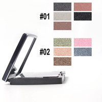 New High Quality 5 Color Portable Eyeshadow Long Lasting Makeup Palette With Brushes