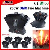Dreibettzimmer Flamme Werfer Maschine DMX Feuer Maschine Bühneneffektgeräte Flammen Projektor|stage effect|dmx firedmx fire machine -