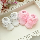 2017 Toddlers Infants Cotton Ankle Socks Baby Girls Princess Bowknots Socks Baby Socks Red 0-6 Month H1