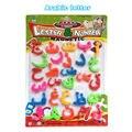 Árabe Crianças Carta Brinquedos Educativos Brinquedo do Enigma do alfabeto Imã de geladeira Magnética Adesivos Desenho bordo acessórios brinquedos para As Crianças