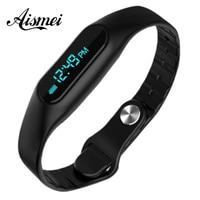 Health smart bracelet wristwatch E06 Bracelet Fitness Wearable Tracker Bluetooth watch for Android 4.4, LIKE MiBand