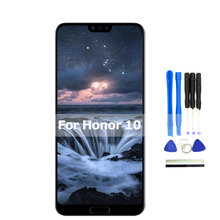 цена на For Huawei Honor 10 LCD Display Touch Screen Digitizer LCD Assembly for Huawei honor 10 COL-AL00 COL-AL10 COL-TL00 COL-TL10