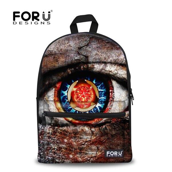 e4db27318 FORUDESIGNS trendy big eye mochilas bonito do animal mochilas escolares  para crianças miúdo dos desenhos animados mochila mochila dupla ombro