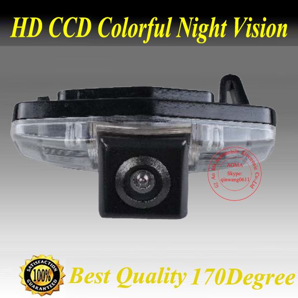 Free shipping Waterproof CCD Car Rear view camera Reverse paking for honda civic 2012/ For honda Accord 2008