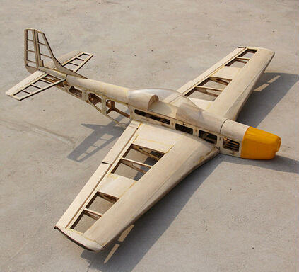 Diy wood rc plane p51 unassembled kit with 1400mm wingspan in rc diy rc plane p51 unassembled kit 3 solutioingenieria Image collections