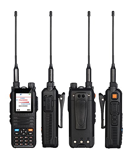 Image 2 - Color Display Walkie Talkie Radio Comunicador Professional Transceiver 5W CP UV2000 VHF/UHF Tri Band 136 174/200 260/400 520 MHz-in Walkie Talkie from Cellphones & Telecommunications
