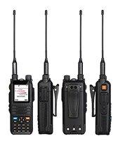 vhf uhf המסך צבעוני מכשיר קשר רדיו Comunicador המקצועי משדר 5W CP-UV2000 VHF / UHF Tri-Band 136-174 / 200-260 / 400-520 MHz (2)