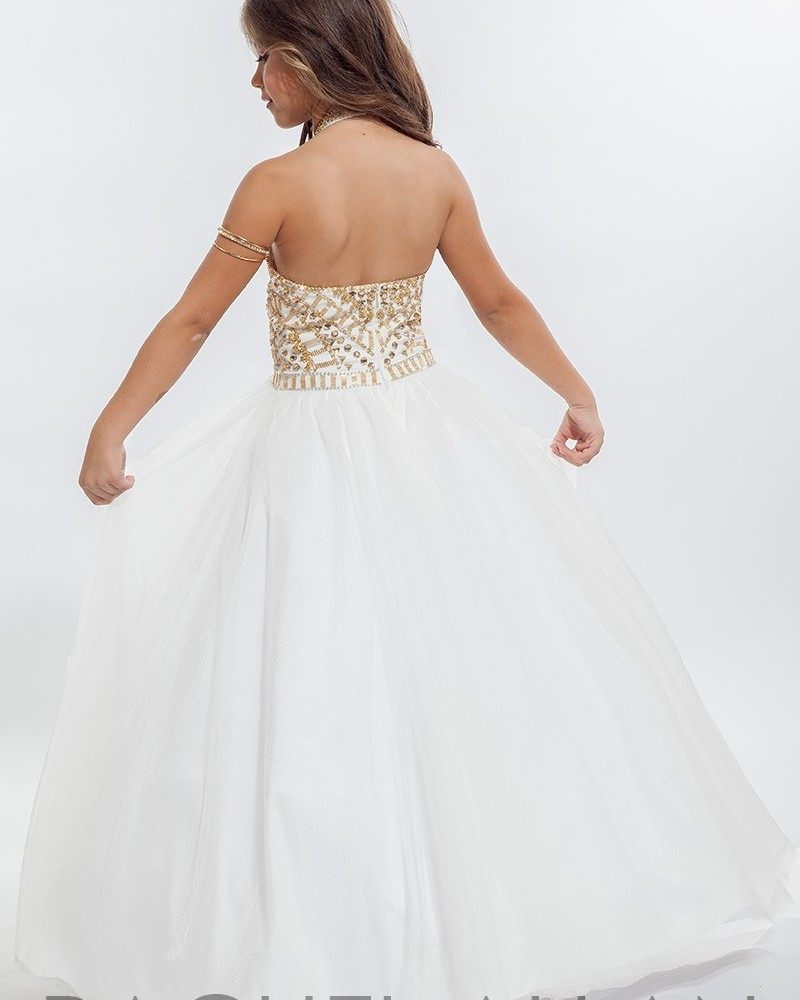 442872ea9a6a Red White Halter Flower Girl Dresses 2016 Beautiful Gold Beaded Kids  Pageant Dress Little Girls Tulle Wedding Party Ball Gowns-in Flower Girl  Dresses from ...