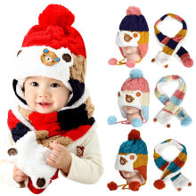 Baby Hat Cap Children Catton Baby Girl And Boy Caps And Hats Winter Newborn Hat Soft Toddler Hats Boys And Girls Beanie Caps Cap(China)
