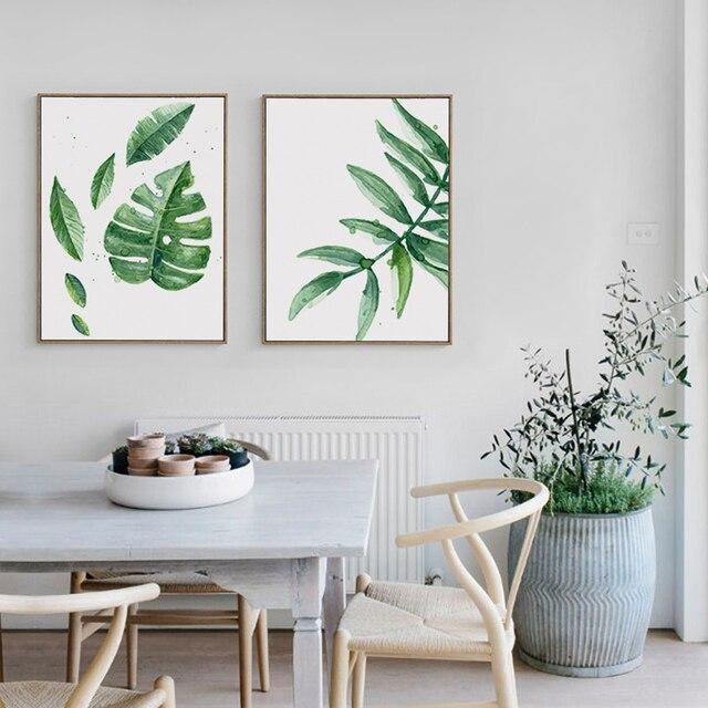 plante verte dans un cadre