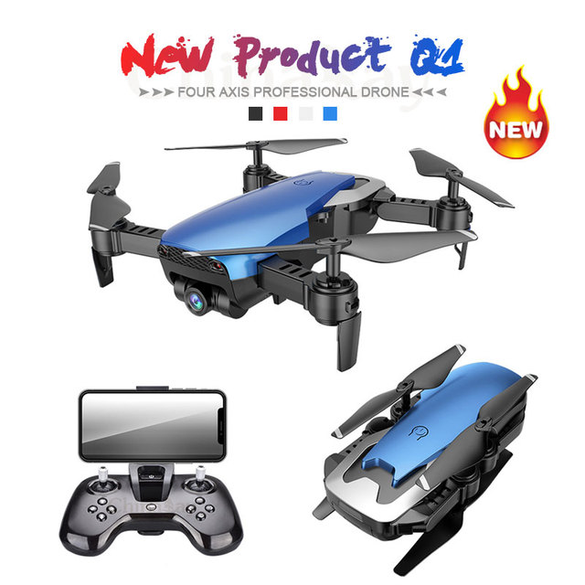 2018 Newest Q1 2MP Wide Angle Camera WiFi FPV Drone Rc helicopter...