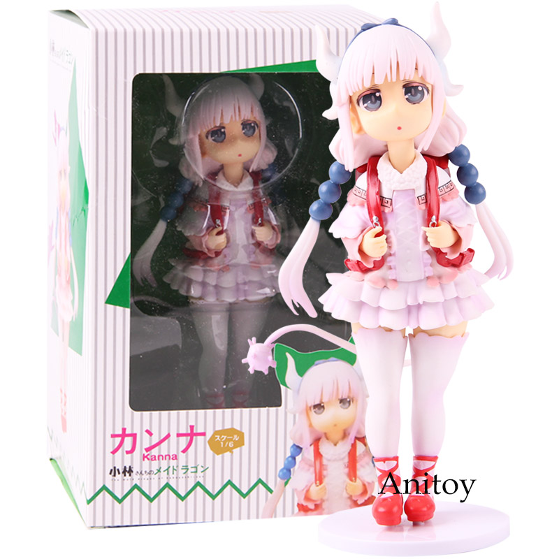 Kobayashi-san Chi No Maid Dragon Kanna Kamui Anime Action Figure PVC Collectible Model Toy
