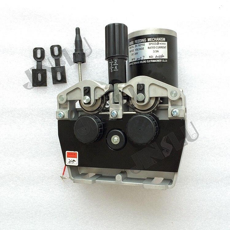 Moteur dalimentation de fil MIG 76ZY02 avec adaptateur de torche EuroMoteur dalimentation de fil MIG 76ZY02 avec adaptateur de torche Euro