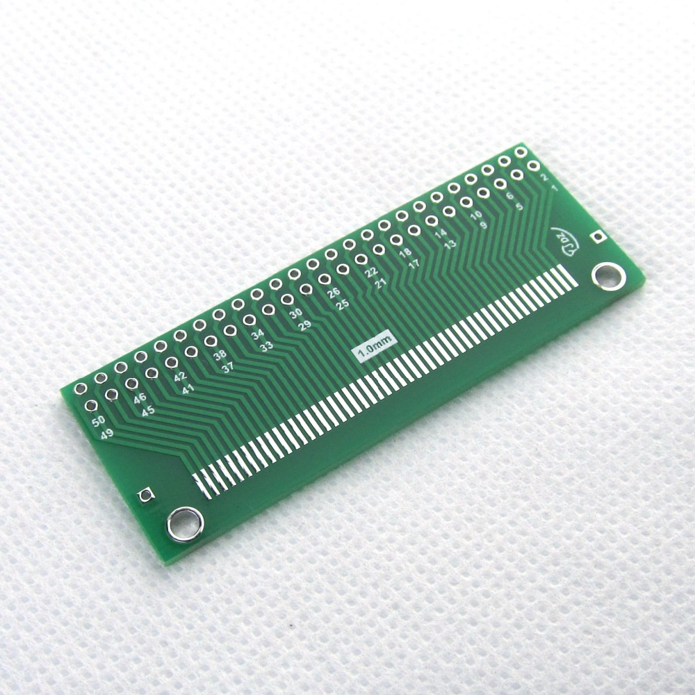 FPC 30P adapter plate FFC turn 2.54-line TFT LCD Block 1mm 0.5mm pitch double-sided