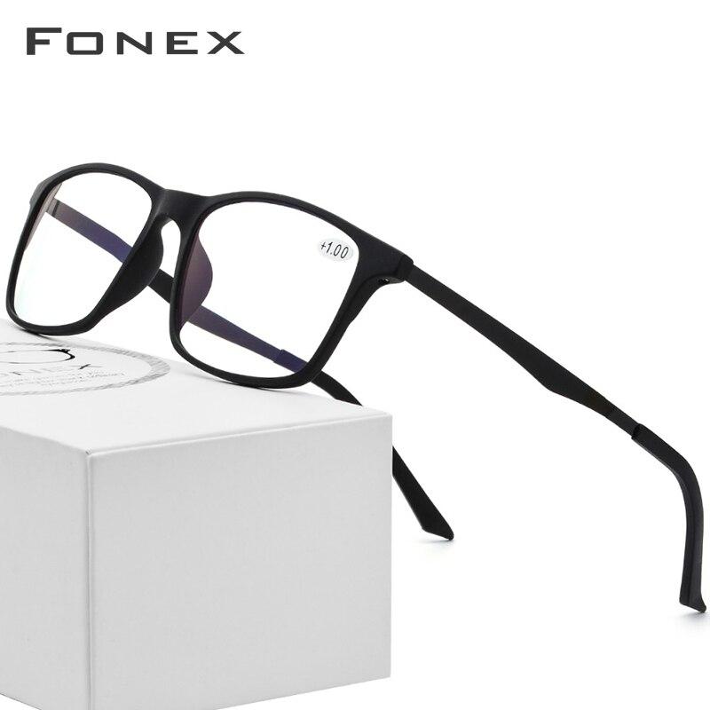 TR90 Anti Luz Azul Homens Óculos De Alta Qualidade Óculos de Leitura de Computador Eyewear Presbiopia Gaming Óculos para As Mulheres + 1.0