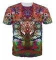 Espírito da árvore marca de moda clothing t-shirt impresso 3d camisa homme hip hop yeezy homem verão camiseta top tees