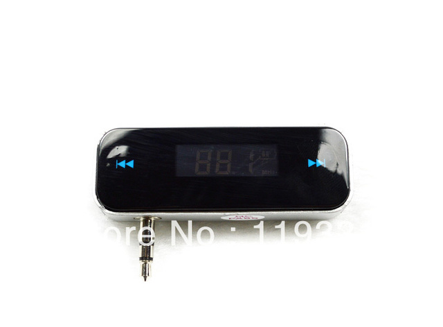 Car MP3 Player Wireless Apple iPhone iPad car transmitter 3.5 headphone MP3 Universal FM Transmitter
