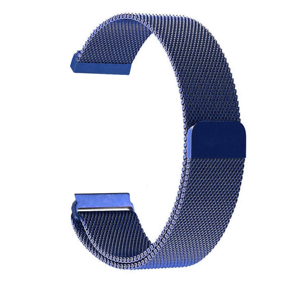 2017 New Milanese Magnetic Loop Wristwatch Band Strap Link Bracelet Watchband For Fitbit Blaze Watch crested milanese loop strap metal frame for fitbit blaze stainless steel watch band magnetic lock bracelet wristwatch bracelet