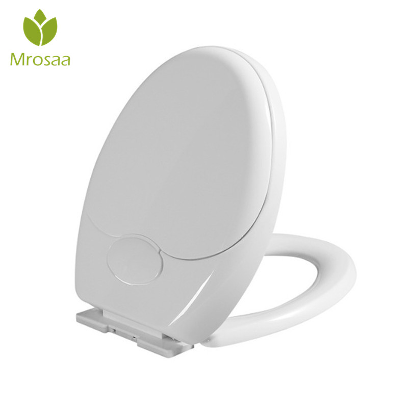 Family Toilet Seat 2 in 1 Child Toddler Adult Potty Chair Cover O Type Toilet Seat