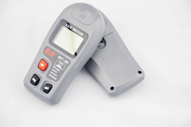 Digital Luxmeter 1~200,000lux Light Meter Test Spectra Auto Range Hot Worldwide Light Illuminance Measuring MT-30