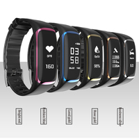 BOX W P9 Smart Bracelet with IP67 Waterproof Bluetooth Smart Watch with Sport Band Heart rate Pulse Message remind Alarm clock