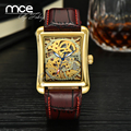 Relogio Masculino Montre Homme Orologio Uomo automatic mechanical Watch Male square Watch Wristwatches Men MCE Watches 177