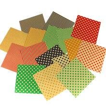 Polkda винтаж крафт DIY оригами бумаги ремесленного двойной стороне бумажного для партии украшения 15×15 см 80 шт./лот