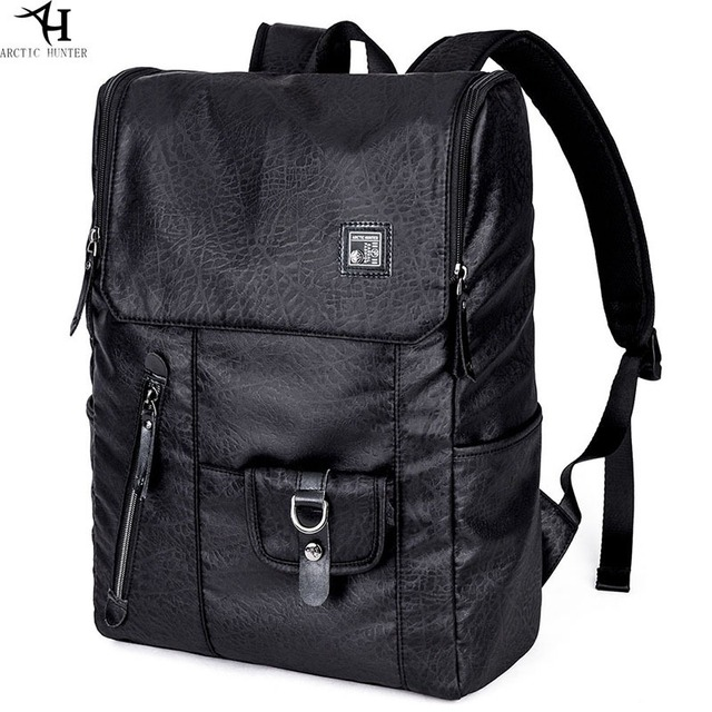 Casual College Backpack Men Oxford Black Book Bags Male Schoolbags Fashion Rucksack Preppy Style School