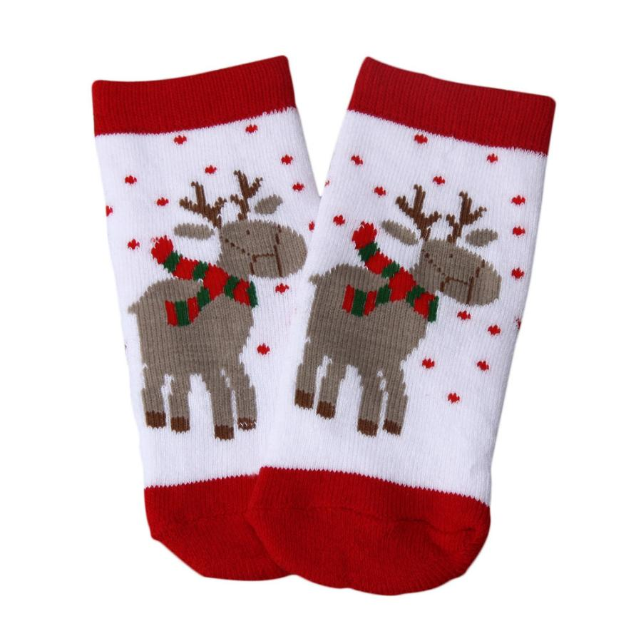 new born baby clothes Christmas cotton baby socks newborn
