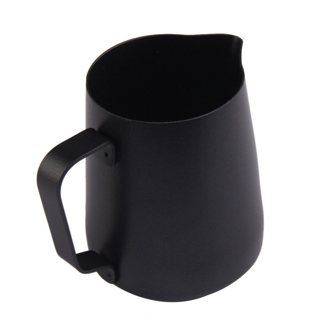 FJS Stainless steel milk jug pitcher coffee coating 350ML