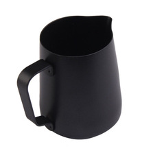 FJS-Stainless steel milk jug pitcher coffee coating (350ML)