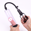 2 Styles Transparent Peni-s Enlargement Pumps Peni-s Cock Pro Extender Vacuum Pump For Men Dick Erection Assisting Device