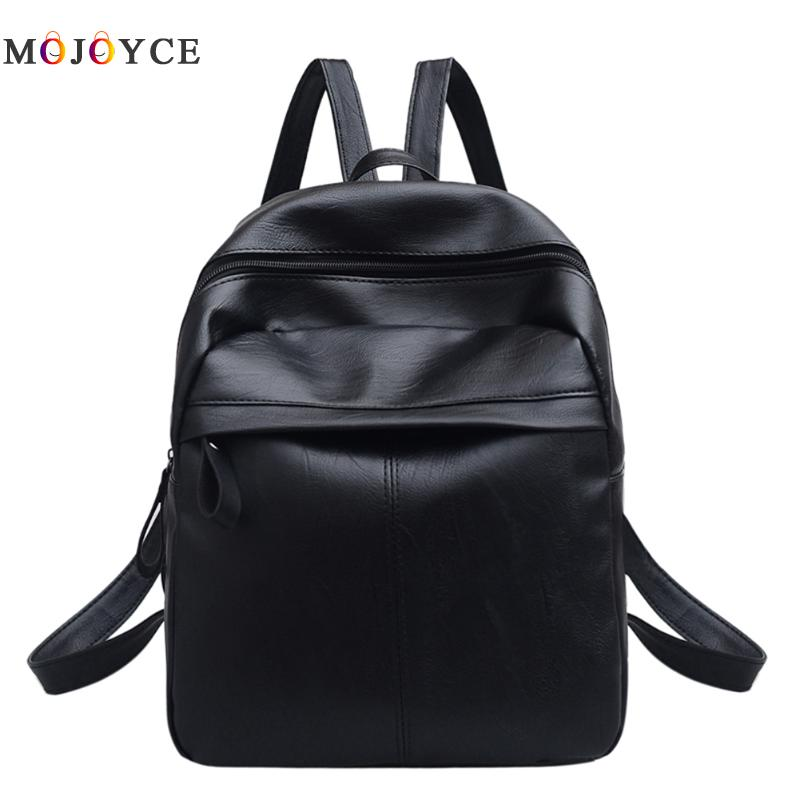 New Travel Backpack Korean Women Female Rucksack Leisure Student School bag Soft PU Leather Women Bag swdvogan new travel backpack korean women rucksack pocket genuine leather men shoulder bags student school bag soft backpacks
