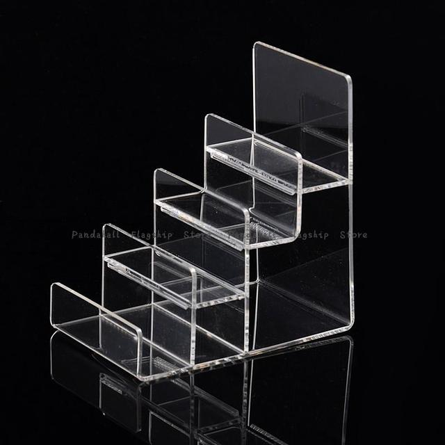 Organic Glass Jewelry Displays, Clear, 155x100x155mm