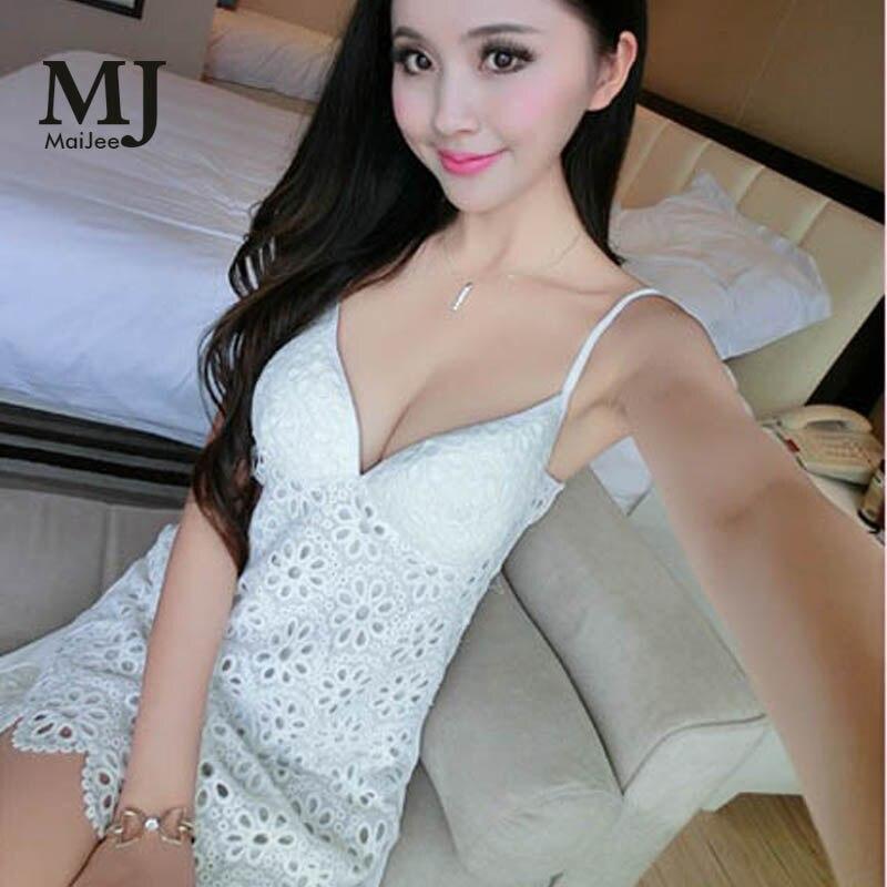 MaiJee White Wedding Night Dress   Sleepshirts     Nightgowns   Pijamas Pyjamas Sexy Lingerie Gecelik   Nightgown   Nightwear Team Bride