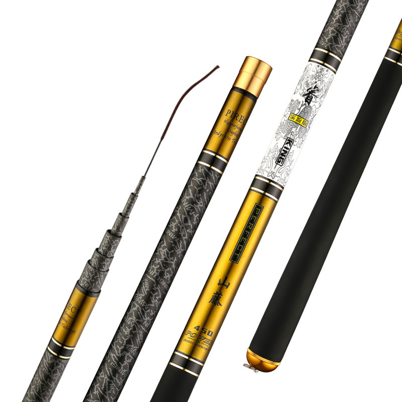 Telescopic Fishing Rod with High Quality Carbon Fiber Suitable Catching Large Fishes during Travel 5