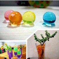 25 KG/LOTE, Color Nunca Se Desvanecen! Tienda de Flores de agua Rebordea el Suelo Cristalino Para la Casa de Interior, 12 Colores A Elegir, El Precio de fábrica