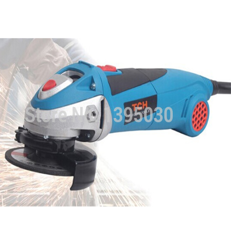 ФОТО 1pc Industrial angle grinder angle grinder polishing machine grinding machine grinder power tool