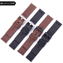 22mm Italian Oily Leather Watchband Quick Release for Samsung Gear S3 Classic Frontier SM-R760/R770 Sport Watch Band Wrist Strap quick release silicone rubber watchband 22mm for samsung gear s3 r760 r770 galaxy watch 46mm r800 feather grain band wrist strap