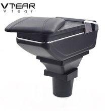 Vtear Para Honda BRV produtos interior Braço De Armazenamento caixa Armazenar conteúdo caixa apoio de braço central acessórios peças do carro-styling 15 -18