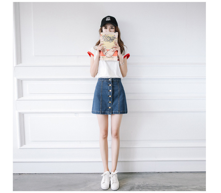 HTB1G4DNQFXXXXcxXpXXq6xXFXXXt - FREE SHIPPING Women High Waist Retro Denim Skirt JKP275