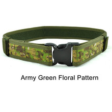 1PC Unisex 1000D Cordura Military Tactical Army Belt Multi-function Airsoft Paintball Hunting Shooting Heavy Duty Belt