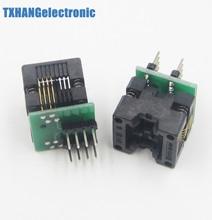 2pcs SOIC8 SOP8 to DIP8 EZ Programmer Adapter Socket Converter module 150mil NEW