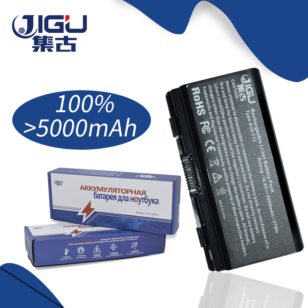 JIGU 6Cells X51L X51R X51RL Laptop Battery For Asus A32 X51 90 NQK1B1000Y A32 T12 T12Fg T12Ug X51C X51H-in Laptop Batteries from Computer & Office