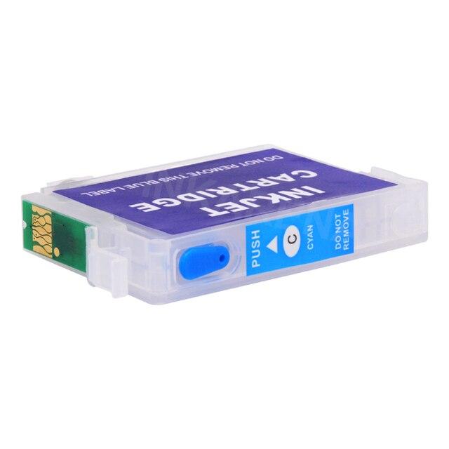 INKARENA Recharge Cartouche Dencre Pour Epson T1281 Imprimante Encre Stylet SX425W SX430W SX435W SX438W SX440W SX445W S22 SX125 SX130 Kit