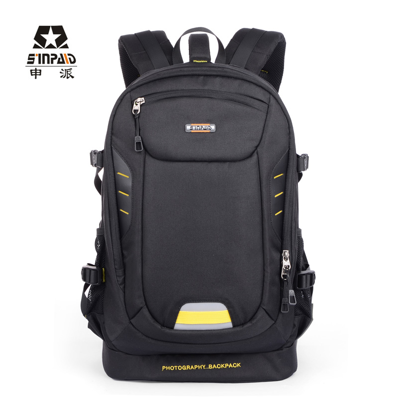 New Version Large Size Photography Camera/video Bags Slr Camera Bag Sinpaid SY-08 Women Backpack High Capacity Travel Bag sinpaid waterproof dslr slr camera backpack photography bag cases two layers design for travel and canon eos nikon sony olympus