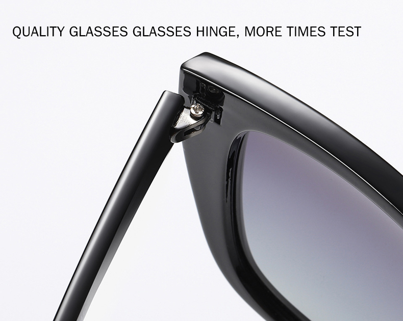 Image 5 - BENZEN Cat Eye Sunglasses Women Vintage Polarized Large Sun Glasses For Driving Retro Ladies Shades Black With Case 6601Womens Sunglasses   -