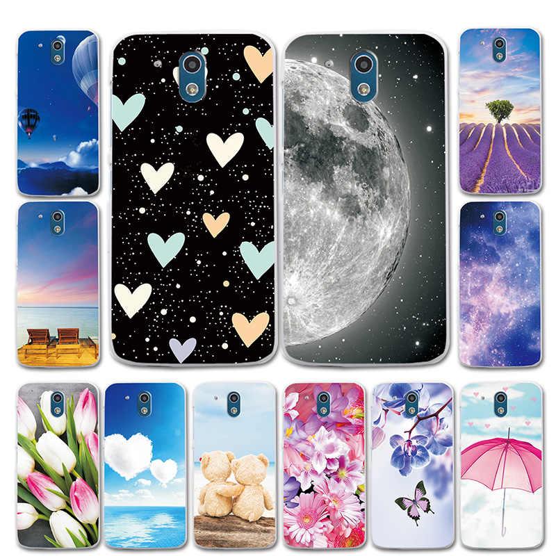 Для htc Desire 526 326 силиконовый чехол для телефона Moon style Love Heart для htc Desire 526G чехол оболочка сумки для htc Desire 326G