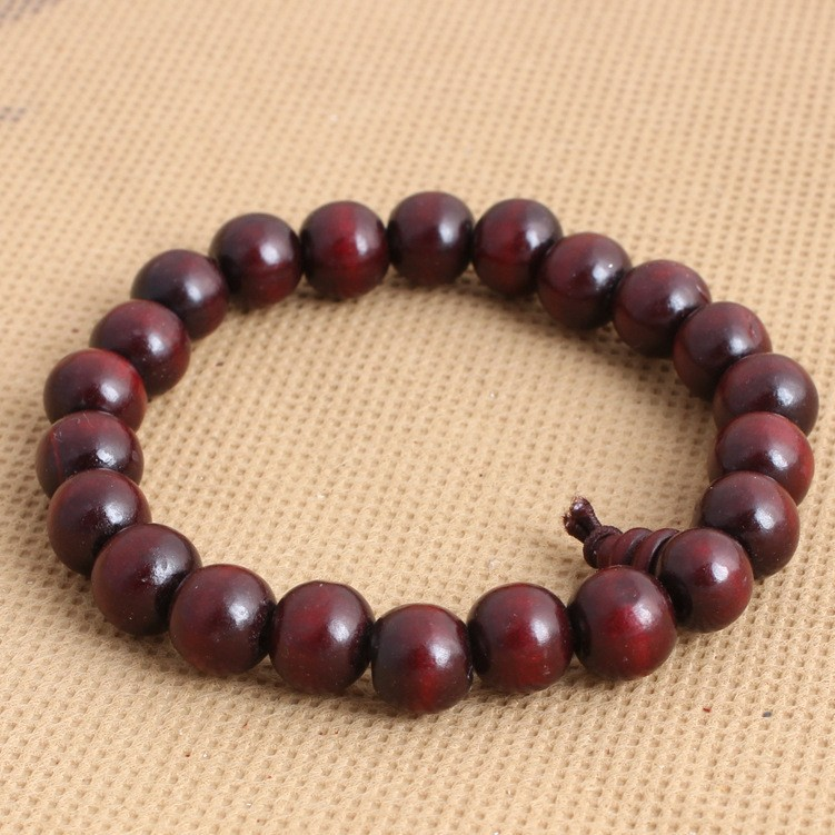 10mm Sandalwood Rosary Wooden Bead Bracelet Handmade Men S Wood Beads Bangle Jewelry With Perfume In Strand Bracelets From Accessories On